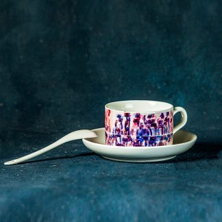 Art in a tea cup art set