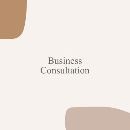 Expert Business Consultation Services