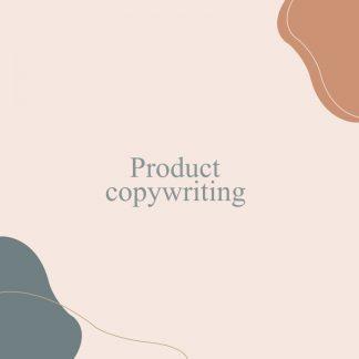 E-commerce Product Description Copywriting